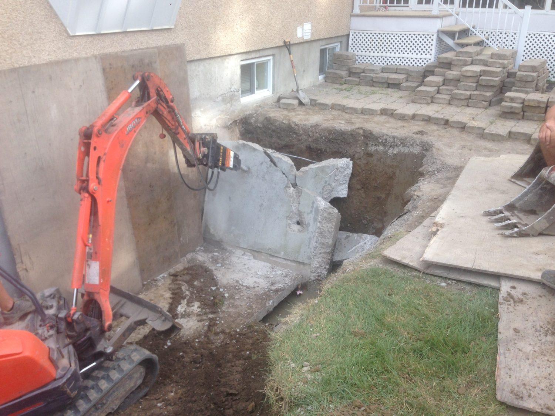 R alisations de cr pi rive sud finition de b ton for Reparation fissure piscine beton